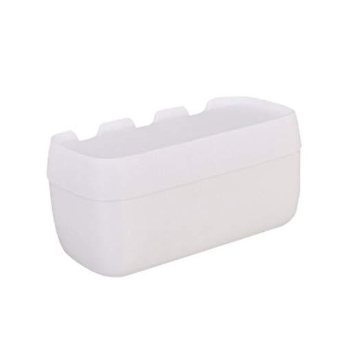 Moderne Gewebe-Box Bad Tissue Box Free Punching Toilettenpapierhalter Kreative Einfache Multifunktionale Kunststoff Toilettenpapierhalter Home Decoration ( Color : White , Größe : 14*13*26cm )