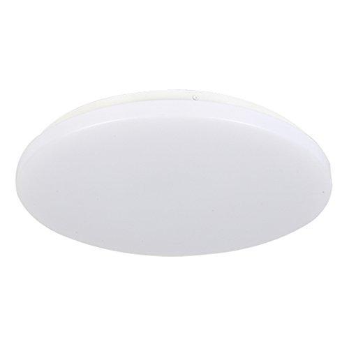 SAILUN 36W Warmweiß Deckenleuchte Runde Ultraslim LED Deckenlampe Wandlampe Panel Lampe Energiespar Flurlicht für Wohnzimmer Lampe Schlafzimmer Küche Licht Weiß (36W Warmweiß)
