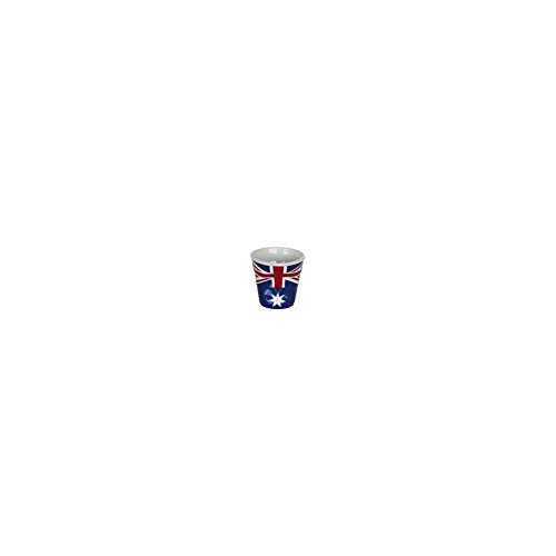 6 tasses froissées expresso drapeau Australien Revol 8 cl