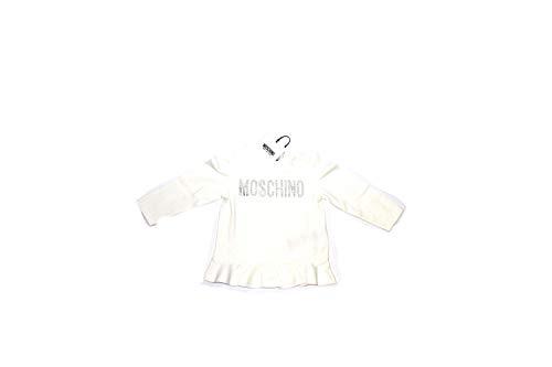 Moschino t-shirt bimba bianca 2018-2019 bianco, 3a