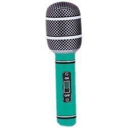 Mikrofone 26.7cm Sortiert Blow-up Aufblasbar Musikalisch Instrumente für Party Dekoration Requisite oder Pool ()