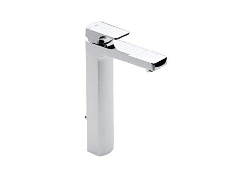 Roca L90 – grifo monomando para lavabo con caño alto y desagüe automático . Griferías hidrosanitarias Monomando. Ref. A5A3901C00
