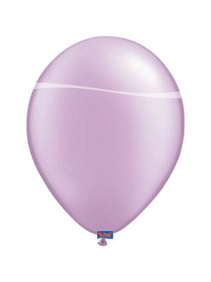 Folat 08412 Lavendel Ballons Metallic-10 Stück, Lila