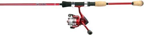 Okuma Fin Chaser B Series Spinning Combo (6-Feet/Red) by Okuma