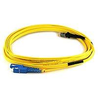 Fiber Optic Cable, MTRJ (Female)/SC, Single Mode, Duplex - 3 meter (9/125 Type) - Yellow -