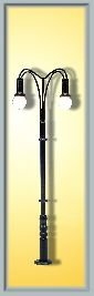 Viessmann 6325 - H0 lámpara de Arco de Dos Tubos Importado de Alemania