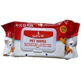 #4: Smarty Pet Wet Wipes For Dogs, Puppies & Pets - Apple - (Pack of 100 Wipes)