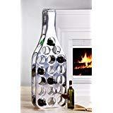 Edles Weinregal Bottle Alu Weinflaschenregal Weinflaschenständer Regal für Wein