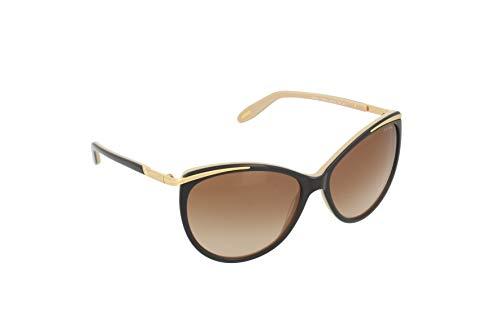 Ralph Lauren Damen RL 8087 American Classic Wayfarer Sonnenbrille, 50018G, Black, Gray Grad