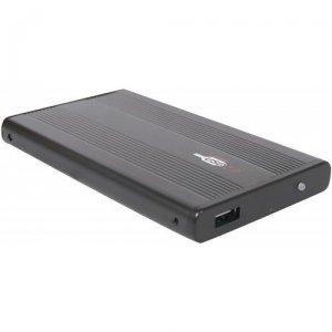Externes Festplattengehäuse aus Aluminium, IDE 2,5Zoll, USB2