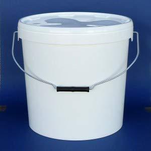 PLASTICOS HELGUEFER-Cubo Hermetico 25 Litros asa metalica