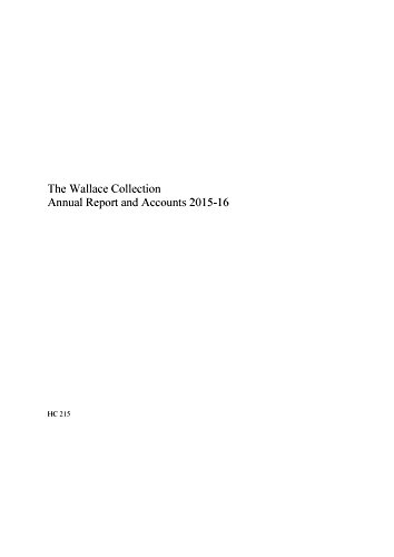 The Wallace Collection annual report and accounts 2015-2016 (House of Commons Papers) -