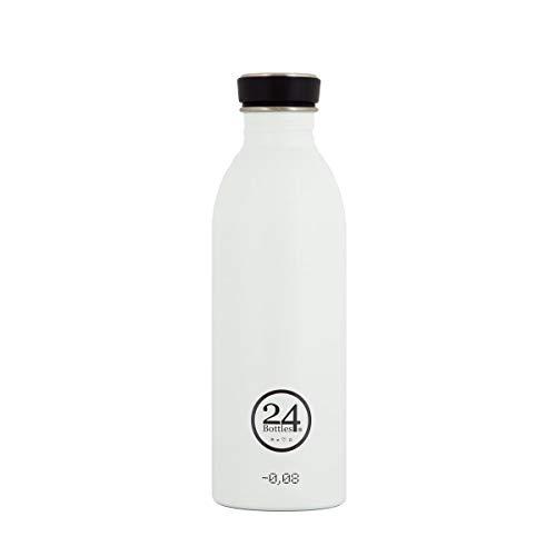 24Bottles Urban, Trinkflasche Unisex Erwachsene, Unisex - Erwachsene, Urban, Ice White, 1000 ml