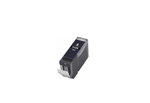 Preisvergleich Produktbild C63 Canon PGI-5 [mit Chip] - 1 x kompatible Tintenpatrone,  Schwarz,  für Canon Pixma iP4200 4300 4500 5100 5200 5200R 5300,  MP 500 530 600 600R 610 800 800R 810 830 950 960 970,  MX850