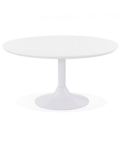 Générique Table Basse Design Bella White 90x90x45 cm