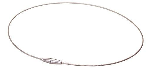 Phiten-Filo in titanio II Interruttore collana chiara