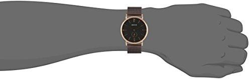 Bering Time 53739-262 – Reloj de cuarzo para hombre, correa de acero inoxidable chapado color negro