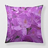 Yourway Square Throw Pillow Purple Rhododendron American Mojo Custom Pillow Case