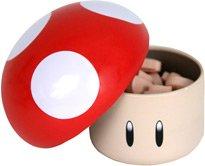 Super Mario Bros. Nintendo Sours / Saure Bonbons: Pilz / Mushroom (Kirsch-Geschmack)