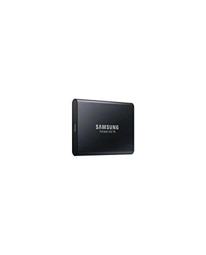 Samsung MU-PA1T0B/EU Portable SSD T5 1TB ((bis zu 540 MB/s) + USB Kabel Typ C auf C und Typ C auf A)