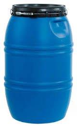 PLASTICOS HELGUEFER - Bidon 220 Litros Cierre Ballesta Azul