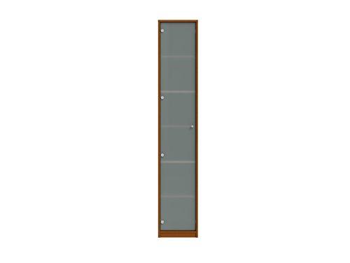 Wellemöbel, JOBexpress, Aktenschrank 6 Ordnerhöhen 71843204, Kirschbaum