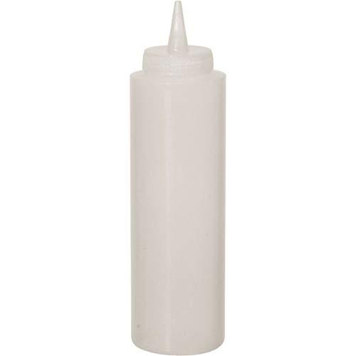 Contacto Quetschflasche mit Schraubdeckel, Polyethylen (PE), Transparent