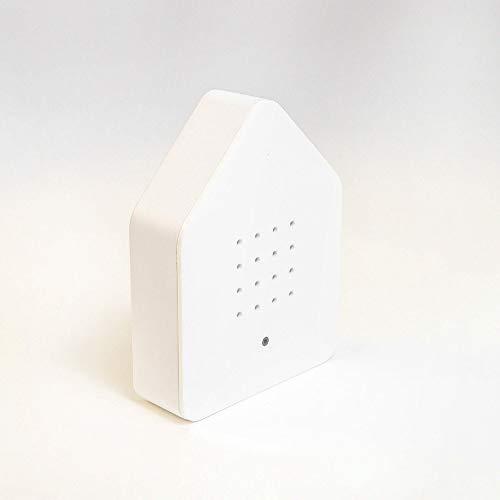 Relaxound Zwitcherbox Classic zwitscherbox, Grau/Weiß, 11 x 12 x 3 cm