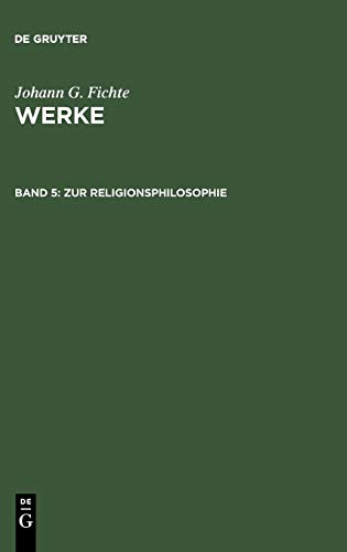 Werke, 11 Bde., Bd.5, Zur Religionsphilosophie.