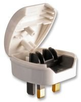 2-pin-euro-to-uk-3-pin-white-plug-adapter-hinge-open-top-type-to-fit-2-pin-mains-plug-easily-fitted-