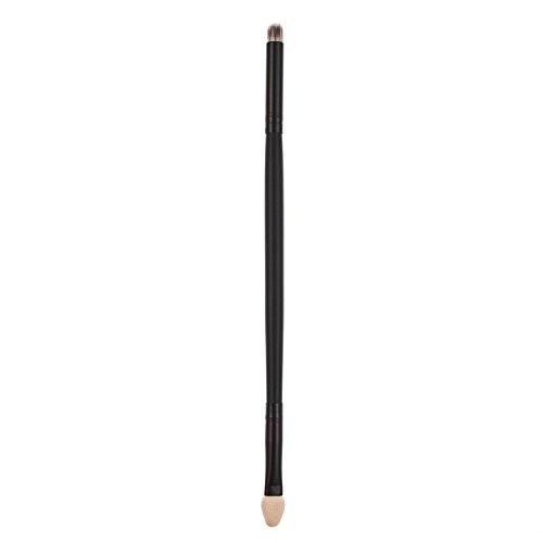 Davidsonne Professionnel Pinceau de Maquillage Kabuki en plastique noir Comestic Ombre à paupières éponge synthétique