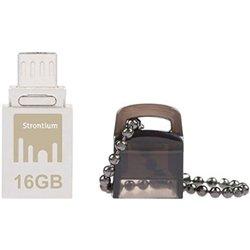 Strontium Nitro USB 3.0 16GB Pen Drive (White)