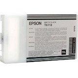 Epson Stylus Pro 9880 - Original Epson / C13T612800 / T6128 / Stylus Pro7450 Tinte matt Black - 220 ml -