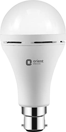 Orient Electric 9W Inverter Emergency LED Light Bulb   6500K, Base B22  Cool Day White