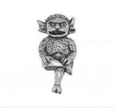 Verpacktes Geschenk Hartzinn Lincoln Imp Orden pin oder Brosche Geschenk für Schal, Krawatte, Hut, Mantel oder Tasche