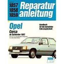 Opel Corsa, alle Benziner + 1,5 l Turbo-Diesel. Ab 1985