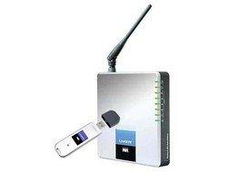 Linksys Wireless-G ADSL Home Gateway WAG200G - Wireless