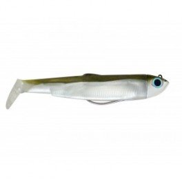 Fiiish Black Minnow Fishing Lure - Kaki/Silver, 6 g by Fiiish