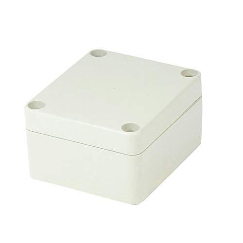 TOSSPER ABS-Kunststoff Anschlussdose mit Deckel wasserdichte DIY Elektronische Projekt Gehäuse Fall 65mm x 58mm x 35mm