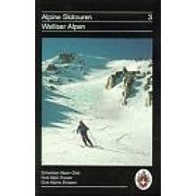 Alpine Skitouren, Bd.3, Walliser Alpen