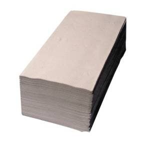 Preisvergleich Produktbild Papierhandtuch 25x23cm 1lagig natur 20x250 Bl./Pack.