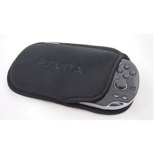 Schutztasche für Sony PS Vita (PSV), weich, Schwarz