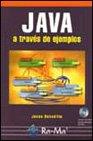 Java a través de ejemplos.