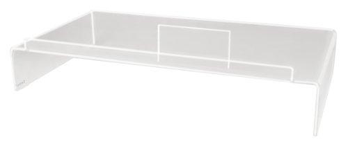 Kantek Acryl Monitor Ständer mit Tastatur Aufbewahrung, hält bis zu 50Pfund, 54x 30,5x 8,3cm, transparent (ams300)