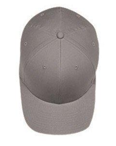 Flex fit Yupoong mittelprofil Twill Cap, 5001, Grau, 5001`Grey`l/XL Yupoong Flex Fit Twill