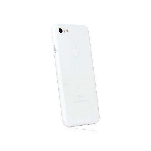 hardwrk Ultra-Slim Case - kompatibel mit Apple iPhone 7 und 8 - weiß - ultradünne Schutzhülle Handyhülle Cover Hülle White - Unterstützt kabelloses Laden - Qi - Wireless Charging Weiß Apple