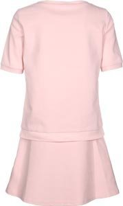 Lacoste L!VE Stretch Double Face W robe Rose