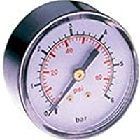 Manómetro 50 mm, 1/4 'post.gli