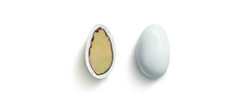 Hochzeitsmandeln / Taufmandeln weiß, 1 kg - hochwertige Mandelqualität ummantelt von einer feinen Zuckerglasur