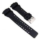 Casio GA-100,cinturino per orologio da polso in resina, nero